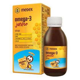 Slika Medex omega-3 junior sirup, 140 mL
