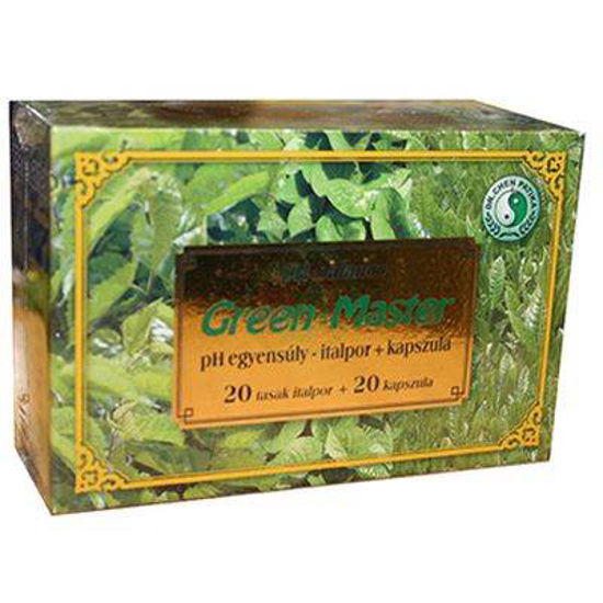 Green-Master, 20 kapsul + 20 vrečk