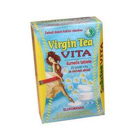 Slika Virgin Tea Vita šumeče tablete, 20 šumečih tablet