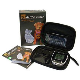 Slika Wellion Gluco Calea merilnik sladkorja v krvi za živali, 1 komplet