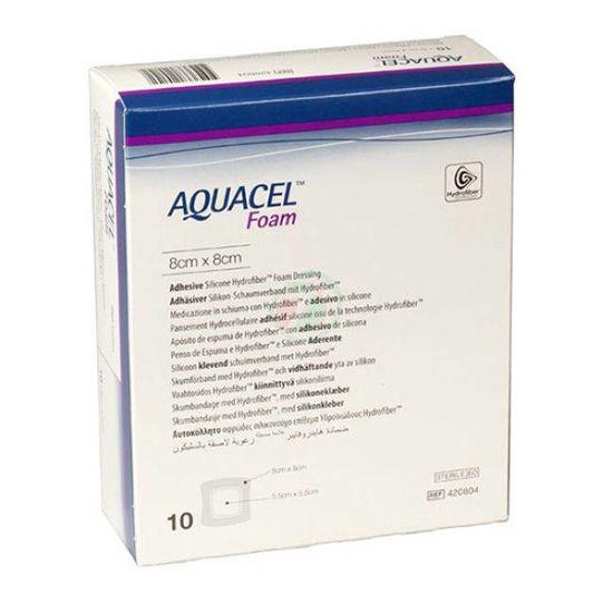 Aquacell neadhezivna pena 15x15 cm, 5 pen