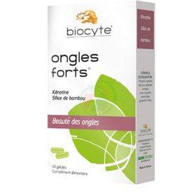 Slika Biocyte Ongles Forts za nohte, 40 kapsul