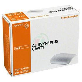 Slika Allevyn Plus Cavity sterilna obloga iz poliuretanske matrice 10x10 cm, 5 oblog