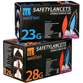 Slika Wellion Safety Lancets varnostne lancete, 200 lancet