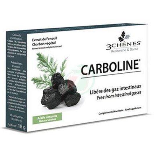 Carboline oglje za žvečenje, 30 tablet