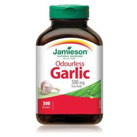 Slika Jamieson česen brez vonja, 300 kapsul