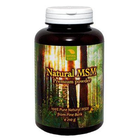 Natural MSM Premium organsko žveplo v prahu, 210 g