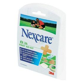 Slika Nexcare set za prvo pomoč, 26 obližev različnih velikosti