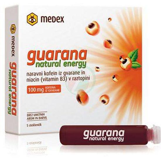 Guarana natural energy Medex, 5x9 mL