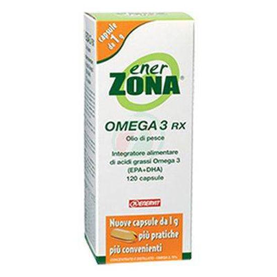 EnerZona Omega 3 RX kapsule z ribjim oljem, 120 kapsul + 48 kapsul BREZPLAČNO