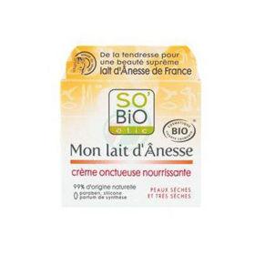 Slika So'Bio Etic hranljiva bogata krema iz mleka oslice, 50 mL
