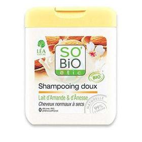 Slika So'Bio Etic šampon mandljevo&oslicino mleko, 250 mL