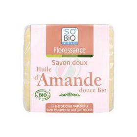 Slika So'Bio Etic trdo blago milo z bio mandljevim oljem, 100 g