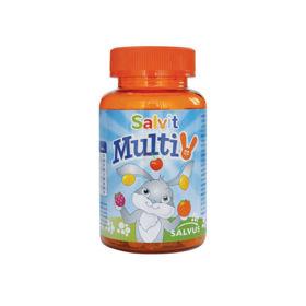 Slika Salvit MultiV žele bonboni, 60 želejčkov