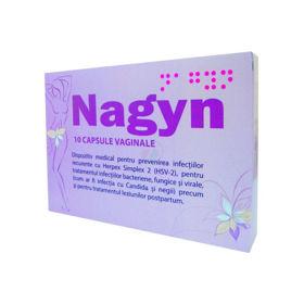 Slika Nagyn, 10 vaginalnih kapsul