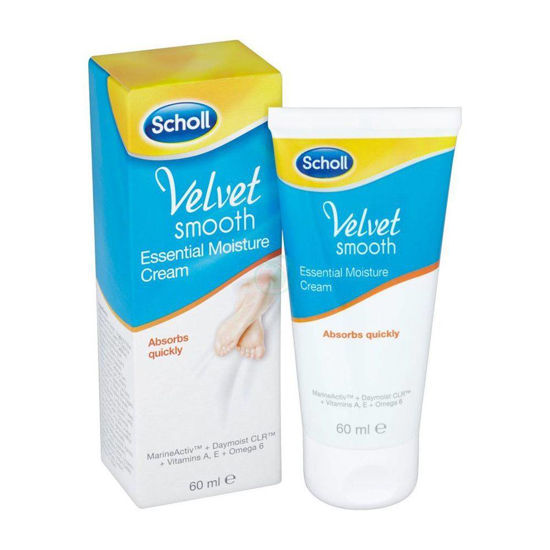Scholl Velvet Smooth vlažilna krema za stopala, 60 mL