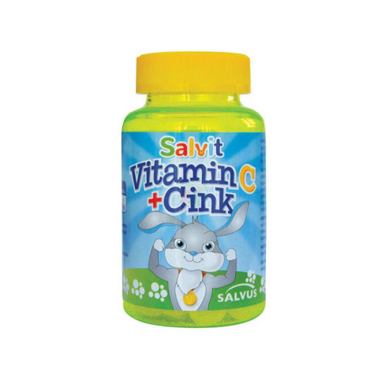 Salvit vitamin C + Cink, 60 žele bonbonov