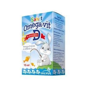 Slika Salvit Omega-Vit D kapljice, 15 mL