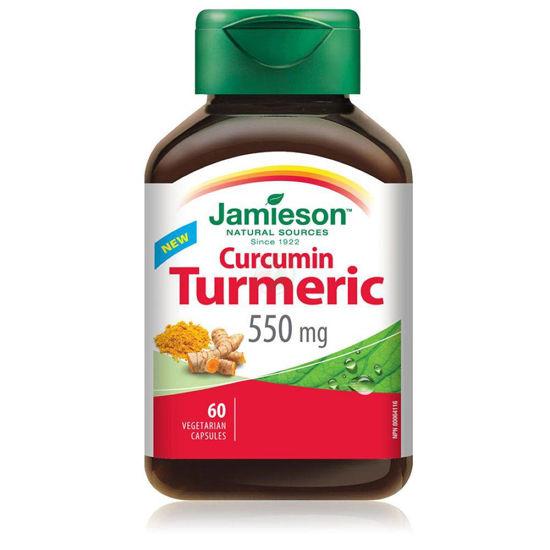 Jamieson Turmeric kurkuma 550 mg, 60 kapsul