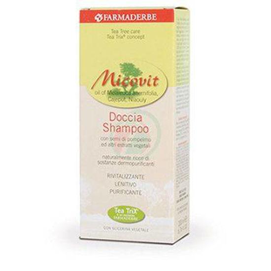 Farmaderbe Micovit 2v1 šampon za lase in telo, 200 mL