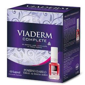 Slika Viaderm Complete, 60 kapsul