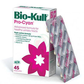 Slika Bio-Kult Pro-Cyan pomoč pri urinarni infekciji, 45 kapsul