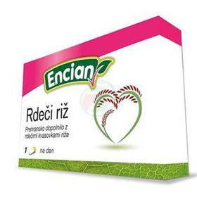 Slika Encian rdeči riž, 30 kapsul