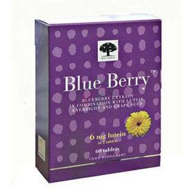Slika Blue Berry z 10 mg luteina, 60 tablet