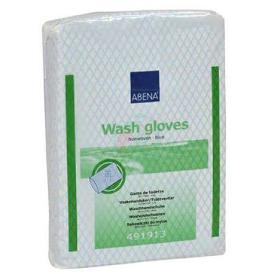 Abena Non-woven rokavice za umivanje, 50 rokavic