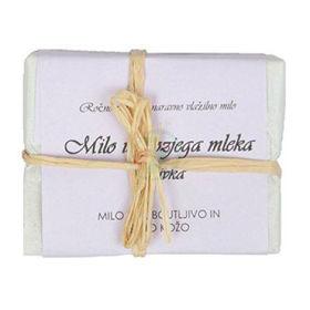 Slika Bela Milina milo iz kozjega mleka z vonjem sivke, 100 g