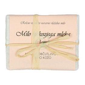 Slika Bela Milina milo iz kozjega mleka z vonjem jasmina, 100 g
