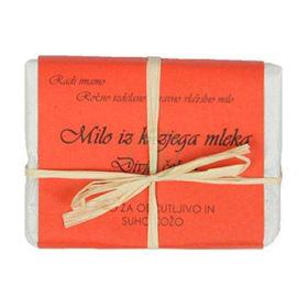 Slika Bela Milina milo iz kozjega mleka z vonjem divje češnje, 100 g