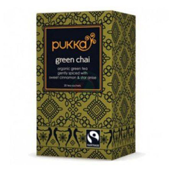 Pukka green chai organski zeleni čaj, 20 vrečk