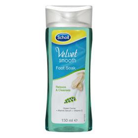 Slika Scholl Velvet Smooth Skin Foot Soak raztopina, 150 mL
