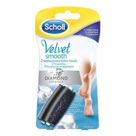 Slika Scholl Velvet Smooth nadomestni valjček, 2 valjčka