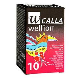 Slika Wellion Calla testni lističi za glukozo, 10 testnih lističev
