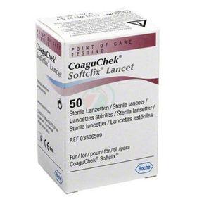 Slika CoaguChek Softclix, 50 lancet