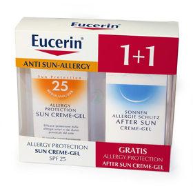Slika Eucerin Sun paket za nego kože nagnjene k alergijam, 2x150 mL