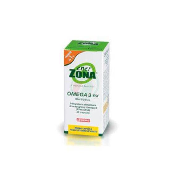 EnerZona Omega 3 RX kapsule z ribjim oljem, 42 kapsul