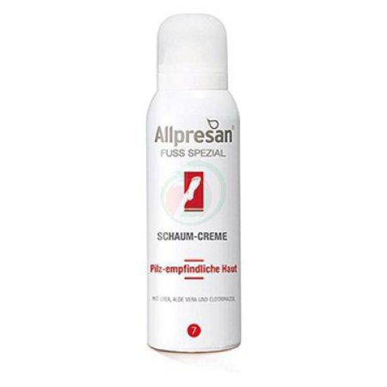 Allpresan 7 kremna pena za kožo z glivicami, 125 mL