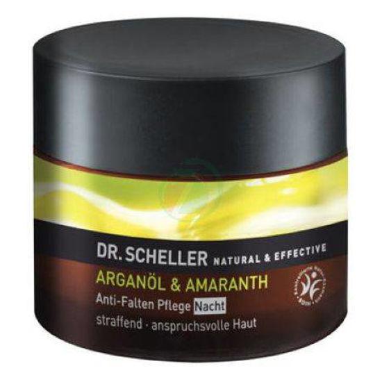 Dr. Scheller nočna krema proti gubam z arganovim oljem&amarantom, 50mL