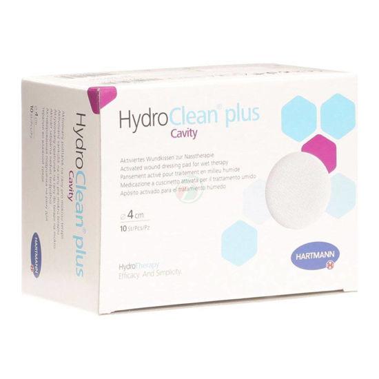 Hydroclean Plus Cavity sterilna obloga z ringer raztopino (okrogla obloga) 4 cm, 10 oblog