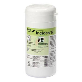 Slika Incides N dezinfekcijski robčki v dozi, 90 robčkov