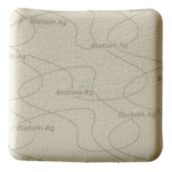 Biatain Ag neadhezivna nelepljiva obloga 15 x 15 cm s srebrom, 5 oblog