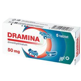 Slika Dramina 50 mg, 5 tablet