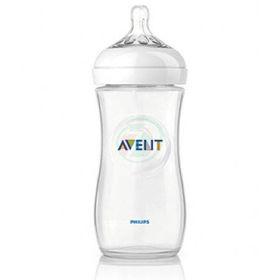 Slika Avent Natural PP plastična steklenička, 260 mL