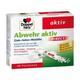 Slika Doppel Herz Abwehr Aktiv Direkt za odpornost s cinkom+selenom+histidinom, 20 vrečk