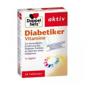 Slika Doppel Herz Aktiv Diabetiker vitamini, 30 tablet