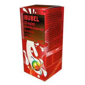 Slika Ibubel 20 mg/mL peroralna suspenzija, 100 mL