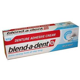 Slika Blend-a-dent močno lepilo za proteze z lahnim okusom po meti, 47 g
